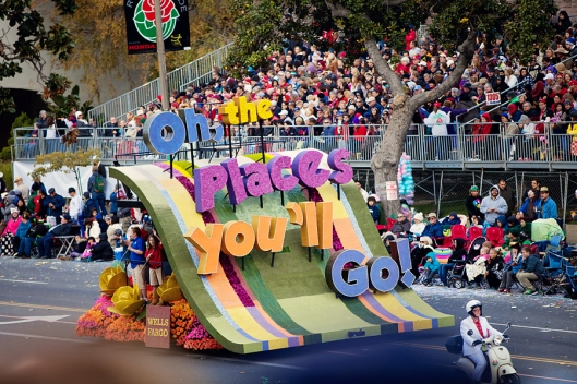 The rose parade theme